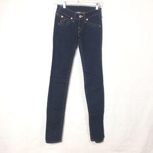 True religion Julie skinny jeans size 25 dark wash